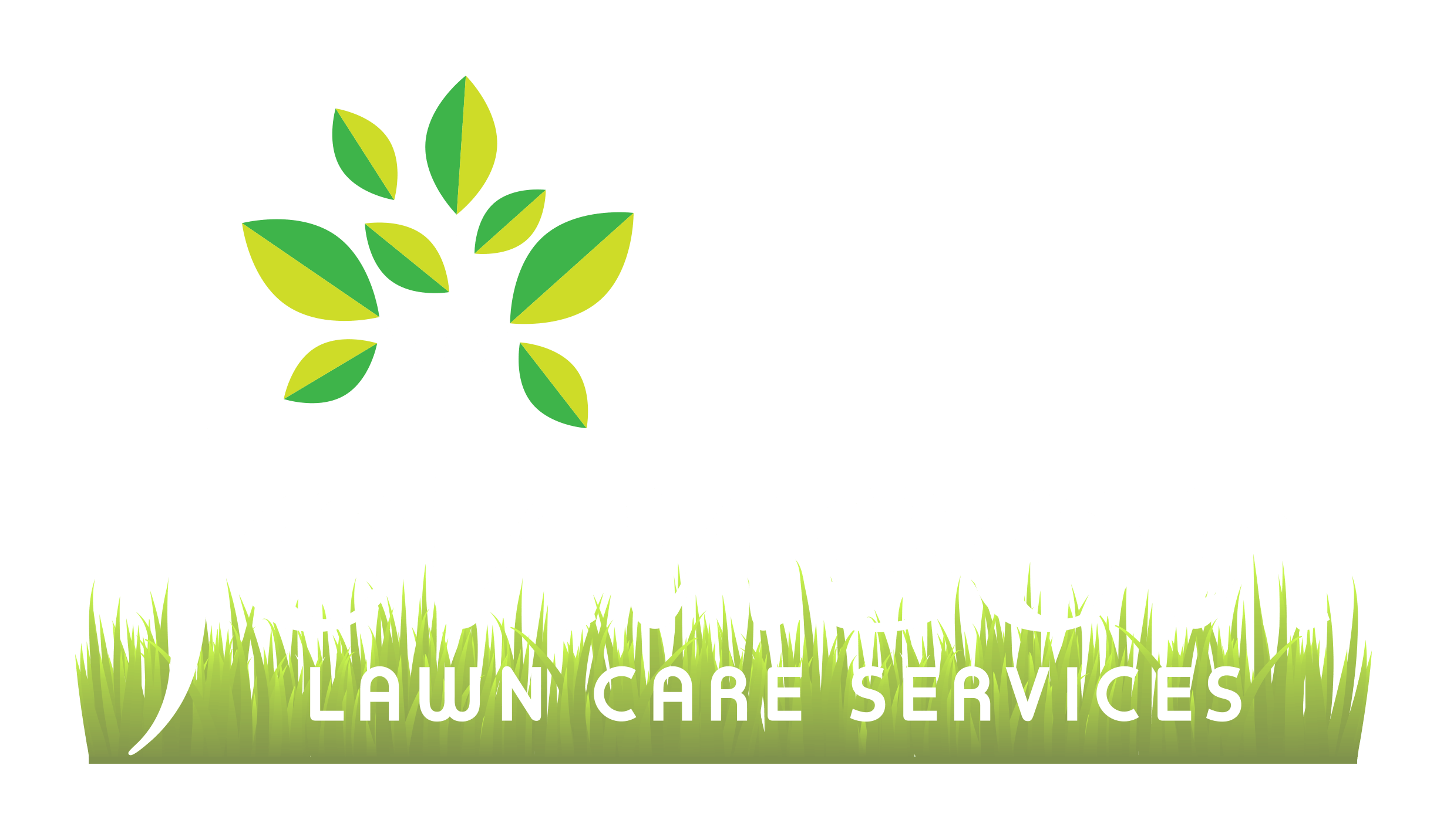 Johnson Lawn Care Logo with tree and grass
